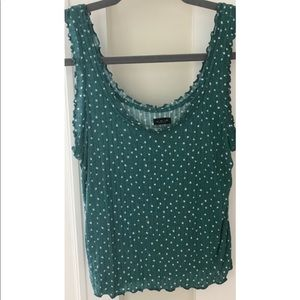 Urban Outfitters Polka Dot Tank Top